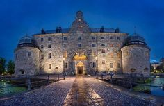 Orebro_Castle.  Ticket info. for tours