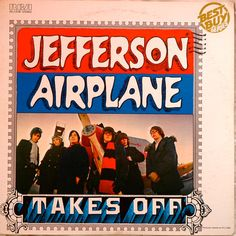 Vintage Vinyl Record JEFFERSON AIRPLANE Takes by AstralBoutique, $12.00