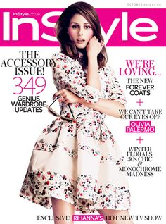 MISS B: INSTYLE UK - OUTUBRO 2012 - EDITORIAL + CAPA
