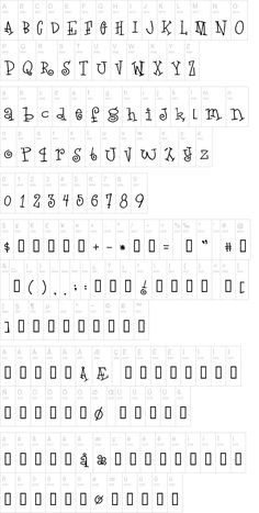 Love Letters Font | dafont.com    Similar to the Jack and Jill embroidery font...
