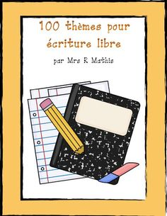 More writing prompts! (Also have kids come up with interesting ones throughout the year or at the beginning of the year). *CREATE classroom journals that kids can write entries in during journal writing time! 6th Grade Writing, Teaching 5th Grade, Teaching Writing, Writing Activities, Teaching Ideas, Elementary Teaching, Teaching Tools, Education And Literacy, French Education