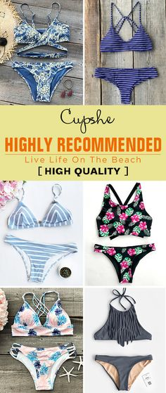 Get confidence and beauty at Cupshe.com! Pick the best swimwear for summer break days. Go for a walk, enjoy the life on the beach. Can't wait to go to the beach. It is the only best must-have!