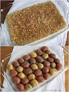 Easy, Crispy, Parmesan Garlic Roasted Baby Potatoes have amazing flavor and texture. They can be prepared quickly for a healthy dinner side, Game Day or party snack, or breakfast and brunch potatoes. TheYummyLife.com  #crispypotatoes #vegetarian #glutenfree #parmesanpotatoes #easyrecipe #potatorecipes #theyummylife