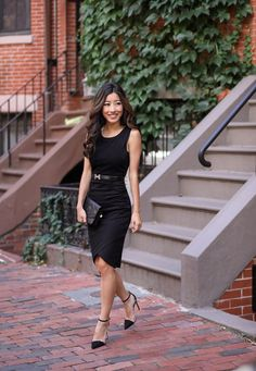 The perfect (and affordable!) little black dress. Click the picture for all outfit info!