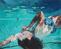 Beneath the Surface: Sublime Underwater Portraits by Samantha French swimming portraits painting Underwater Images, Underwater Painting, Underwater Photography, Film Photography, Street Photography, Landscape Photography, Nature Photography, Fashion Photography, Wedding Photography