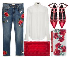 """""""street style"""" by sisaez ❤ liked on Polyvore featuring Joseph, Valentino, Casetify and Urban Decay"""