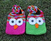 PDF Pattern for Kids Crochet Owl Bags with Strap. Easy to Follow Instructions. by KraftyShack on Etsy, $2.99 USD