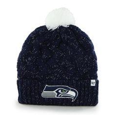 Women's Knit Seattle Seahawks Beanie Crochet Hat