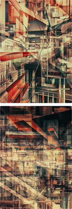 Abstract Illustrations by Atelier Olschinsky | Inspiration Grid | Design Inspiration