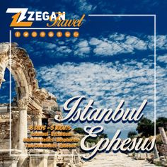 Istanbul-Ephesus-Pamukkale (6 Days-5 Nights)  *Istanbul - Byzantium & Ottoman Relics Tour - Bosphorus & Two Continents Tour - Ephesus - Pamukkale  *Airport Transfers  *Guided Daily Tours   Contact us now info@zegantravel.com  http://www.holidaypackageturkey.com/…/zt-053-istanbul-ephes…  #turkey #turkeytour #turkeytravel #istanbul #istanbultour #istanbultravel #ephesus #pamukkale