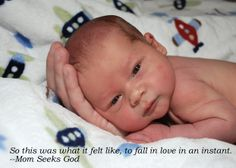 Nothing will teach you more about the love God has for us than the love you feel for your child. http://www.juliaroller.com/books/mom-seeks-god/