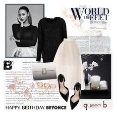 """""""Happy Birthday, Beyonce!"""" by helenevlacho ❤ liked on Polyvore featuring Delpozo, Zara, Lipsy, Wet Seal, contestentry and happybirthdaybeyonce"""