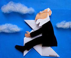 Del fr. cocotte 'pajarita de papel' y -logía, término acuñado por Miguel de Unamuno.  1. f. p. us. Arte de hacer pajaritas de papel.  Una de las aficiones favoritas del escritor Miguel de Unamuno fue la papiroflexia. No era extraño verle en algún café plegando cuartillas o servilletas de papel y regalando después las papirolas, que es como se llaman estas figuras, a quienes se las solicitaban.Viaje de ida: LOS LEONES DE LA CASA