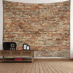 Waterproof Bricks Wall Hanging Tapestry -