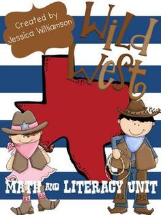Learn all about Texas and the wild west with this fun unit. It includes a book about Texas symbols (teacher copy and student copy included). Many ...