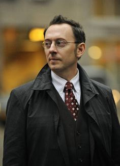 """Harold Finch """"Person of Interest"""" - Honestly, I've loved all of the former """"Losties"""" that pop up on this show <3"""