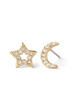 Wear the Moon and Star Earrings to put you in the celestial mindset to always rely on your wisdom and foresight. Keep trusting your intuition—it will never lead you astray.