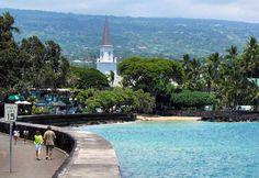 Kailua-Kona, Hawaii (Big Island) been there twice - luv!
