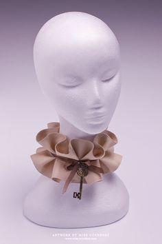 Neck corsets - Halskorsetts - Ophelia Overdose - Model Designer Performer
