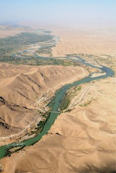 The Helmand River rises in the Hindu Kush & runs for over 700 miles through Afghanistan.