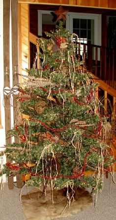 grapevine Christmas tree   Moose-R-Us.Com Cabin Lodge Craft Ideas Cabin decor, lodge decor, log ...
