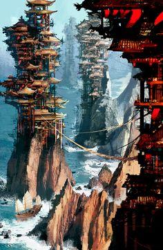 DANIEL DOCIU • Pagodas • http://www.tinfoilgames.com/