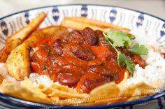Vegetarian chili con carne recipe - Chilli without Carne | MongolianKitchen.com