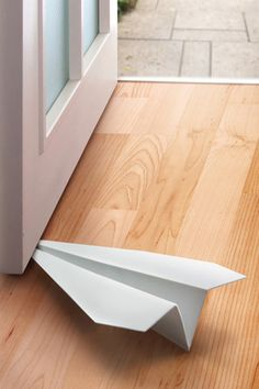 Doorstop That Looks Like A Paper Airplane