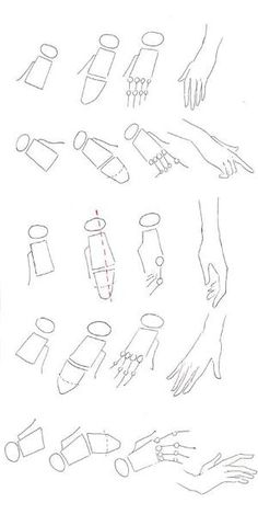 How to draw hands | Fashion Drawing | Templates and Tutorials by Bali