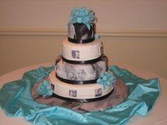 Wedding cake by coleyscakes.com