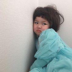 Cute Baby Meme, Cute Baby Couple, Cute Baby Girl Pictures, Baby Memes, Cute Memes, Cute Little Baby, Cute Asian Babies, Korean Babies, Asian Kids