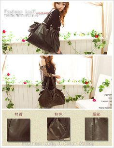 "Fashion Lady  Faux-Leather Carryall    Height of Handle: 26cm / 10"", Width: 52cm / 20"",   Height: 30cm / 12"", Bottom Width: 15cm / 6"","