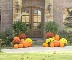 Y'all know I have a passion for well-dressed doors. BBC and I didn't get a harvest door up this year so we've been stalking the neighbors for ideas for next year. This is by far the best dressed harvest door I've ever seen. It is so cheery and warms my heart every time weContinue Reading