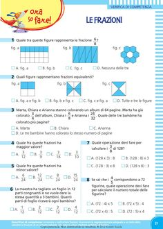 il mio super quaderno 5 matematica Primary Maths, Primary School, Decimal, Elementary Math, Fractions, Book Cover Design, Teaching Math, Problem Solving, Textbook