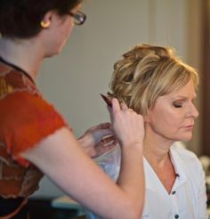 50 Ravishing Mother of the Bride Hairstyles | Hair style, Updo and ...