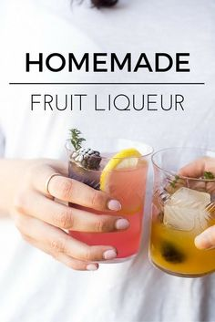 How to Make Homemade Fruit Liqueur --- with my quick and easy technique this vibrant liqueur is ready to drink in 24 hours! theviewfromgreatisland.com