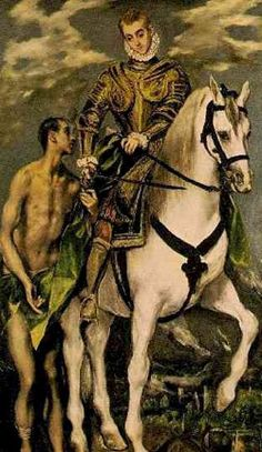 Saint Martin of Tours pray for us and soldiers, beggars, inn keepers, wine growers, Pontifical Swiss Guard, against poverty and against alcoholism.  Feast day November 11.