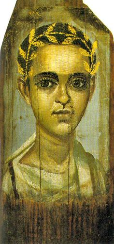 Les portraits du Fayoum (Egypte)