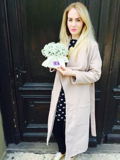 Flower Boxes, Coat, Jackets, Fashion, Window Boxes, Down Jackets, Moda, Sewing Coat, Fashion Styles