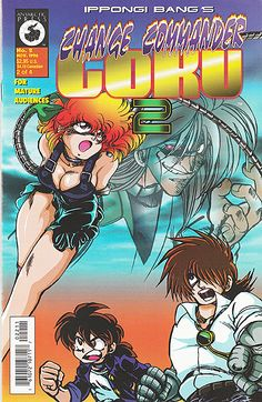 Up now on my eBay! Change Commander Goku 2 #2 by manga artist and cosplay pinup queen Bang Ippongi, 1996! Also up for grabs: my superheroine comic collection (70's-80's stuff), random Radio Comix books and various indie comics! My house is super...