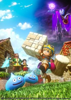 Dragon Quest Builders - Details, Screenshots and Off-Screen Gameplay - NeoGAF