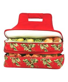 Another great find on #zulily! Holiday Entertainer Food Carrier #zulilyfinds
