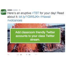 You Look Good In My Class Twitter Stream - Teacher Tech