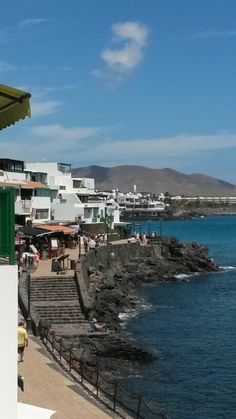 Playa Blanca, Lanzarote.
