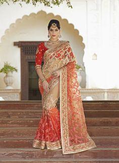 Pink Wholesale Designer Saree Supplier From Surat