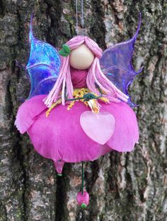 ON SALE Minature Fairy Flower Faerie Angel by FaerieBlessings