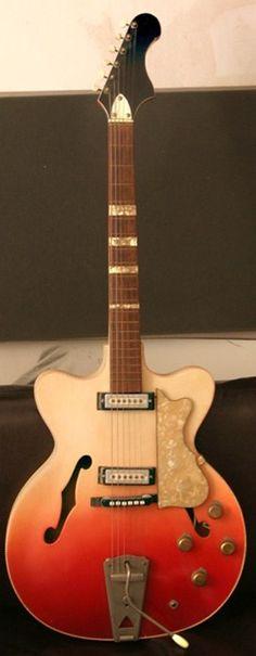 a German copy of the Fender Coronado