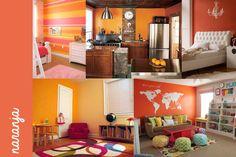 Decoración #orange #decoración #blanco #gabriellafiori