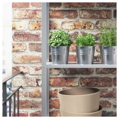 IKEA - SOCKER Plant pot galvanized indoor/outdoor,
