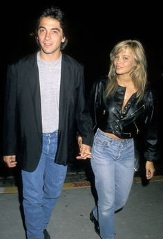 Pamela Anderson and Scott Baio | Unexpected Celebrity Couples From The '80s